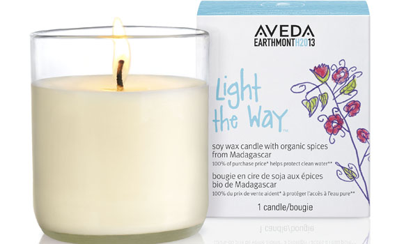 Aveda Earth Month Candle