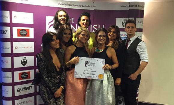 beauty hair awards award service team wonderlab salon winners